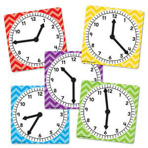 Clock Dials-Set of 5