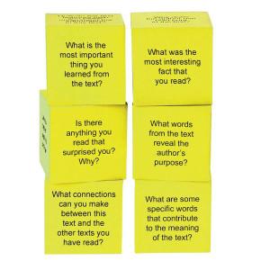 Foam Nonfiction Comprehension Cubes