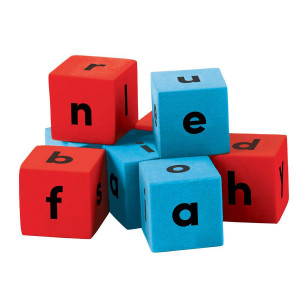 Alphabet Dice- Foam