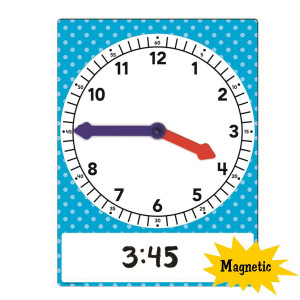 Large Magnetic Foam Geared Clock