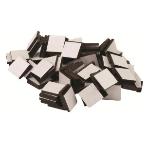 Adhesive Magnetic Squares-1/2""