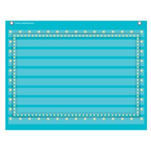 Marquee Light Blue Mini Pocket Chart