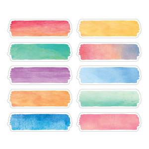 Watercolor Labels