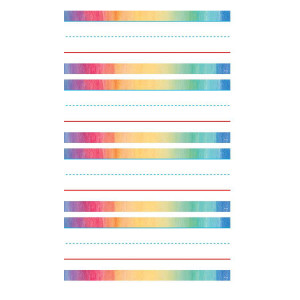 Watercolor Word Strips