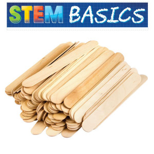 STEM Basics: Jumbo Craft Sticks