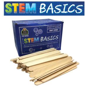 STEM Basics: Craft Sticks-500 count