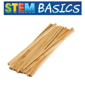 STEM Basics: Square Wood Dowels