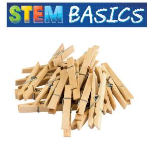 STEM Basics: Medium Clothespins