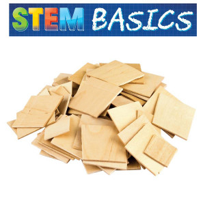 STEM Basics: Wooden Squares