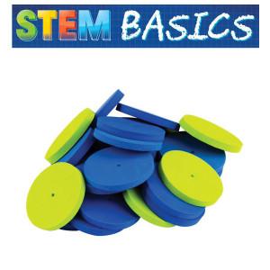 STEM Basics: Foam Wheels