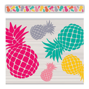 Tropical Punch Pineapple Border