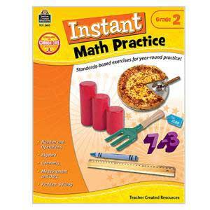 Instant Math Practice Book-Grade 2