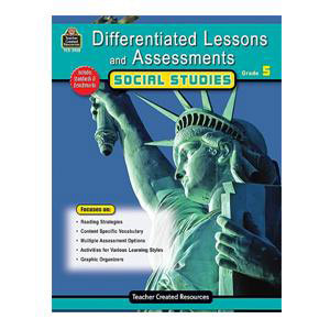 Differentiated Lessons Social Studies Grade 5
