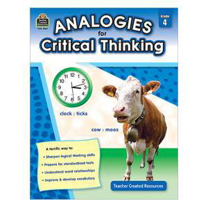 Analogies for Critical Thinking-Grade 4