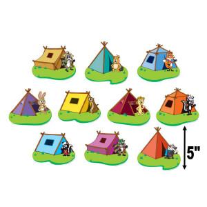 Ranger Rick Tents Cut-Outs