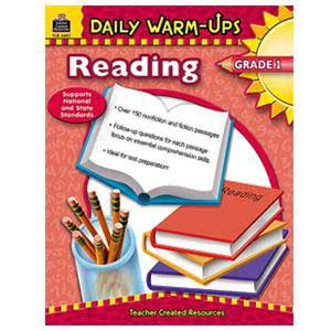 Daily Warm Ups-Reading Book Grade 1