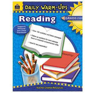 Daily Warm Ups-Reading Book Grade 2