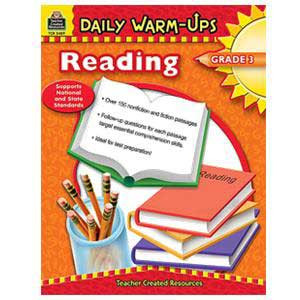Daily Warm Ups-Reading Book Grade 3