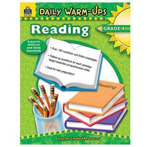 Daily Warm Ups-Reading Book Grade 4