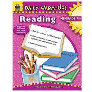Daily Warm Ups-Reading Book Grade 5