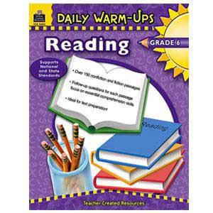 Daily Warm Ups-Reading Book Grade 6