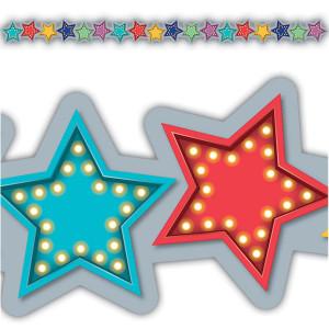 Marquee Stars Die-Cut Border