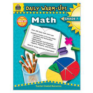 Daily Warm Ups Math Book-Grade 7