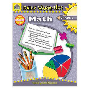 Daily Warm Ups Math Book-Grade 8