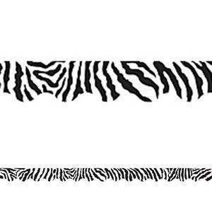 Zebra Scalloped Border