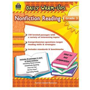 Daily Warm-Ups:Non-Fiction Reading Grade 3