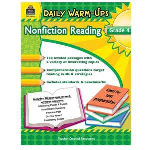 Daily Warm-Ups:Non-Fiction Reading Grade 4