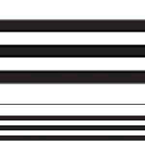 Black & White Stripes Straight Border