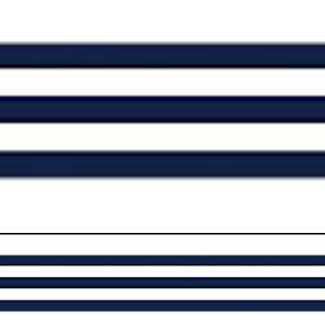 Navy Blue & White Stripes Straight Border