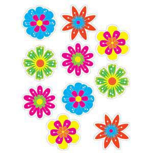 Fun Flowers Cut-Outs
