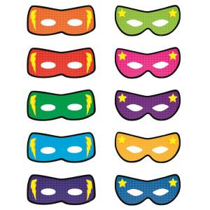Superhero Masks Cut-Outs