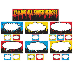 Calling All Superheroes MIni Bulletin Board