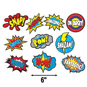 Superhero Sayings Cut-Outs