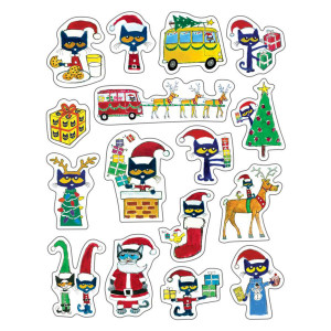 Pete the Cat Christmas Stickers