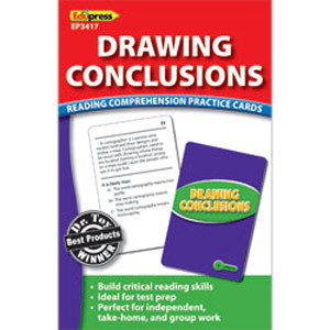 Drawing Conclusions Cards Reading Level 5.0-6.5