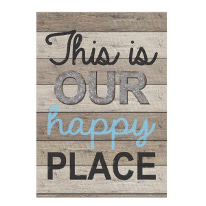 Home Sweet Classroom Happy Place Positive Poster