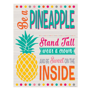 Tropical Punch Be a Pineapple Poster