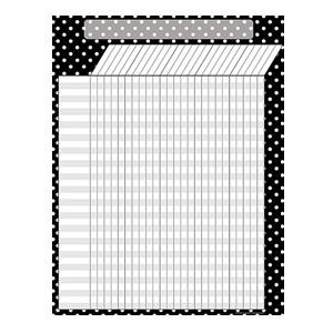 Black Polka Dot Incentive Poster