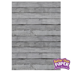 Gray Wood Better Than Paper Roll
