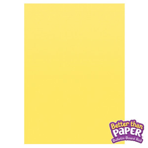 Lemon Yellow Better Than Paper Roll
