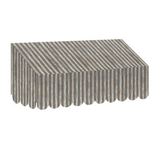 Home Sweet Classroom Corrugated Metal Awning