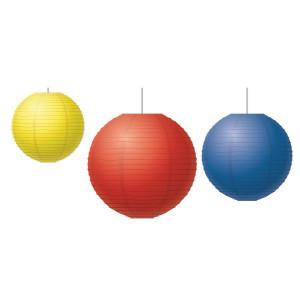 Red, Yellow & Blue Lanterns