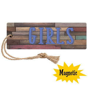 Home Sweet Classroom Magnetic Girls Hall Pass