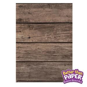 Dark Wood Better Than Paper Bulletin Board Roll