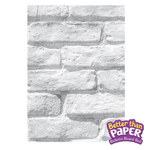 White Brick Better Than Paper Bulletin Board Roll