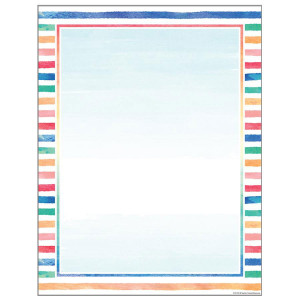 Watercolor Blank Poster